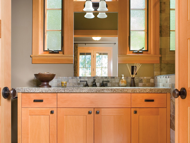 Arts & Crafts House Plan Bathroom Photo 01 - Yukon Harbor Vacation Home 011S-0066   House Plans and More