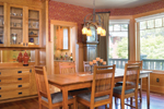 Arts & Crafts House Plan Dining Room Photo 01 - Yukon Harbor Vacation Home 011S-0066   House Plans and More