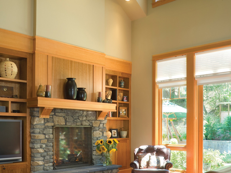 Arts & Crafts House Plan Family Room Photo 03 - Yukon Harbor Vacation Home 011S-0066   House Plans and More