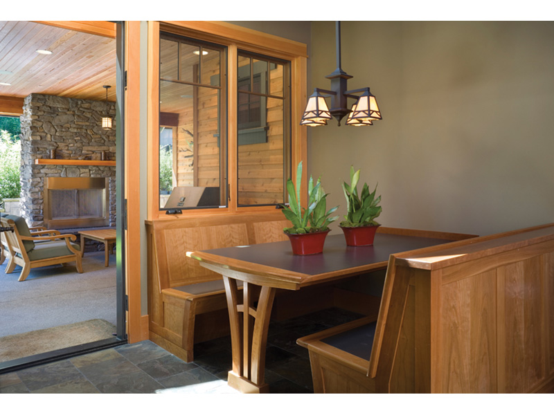 Arts & Crafts House Plan Kitchen Photo 06 - Yukon Harbor Vacation Home 011S-0066   House Plans and More
