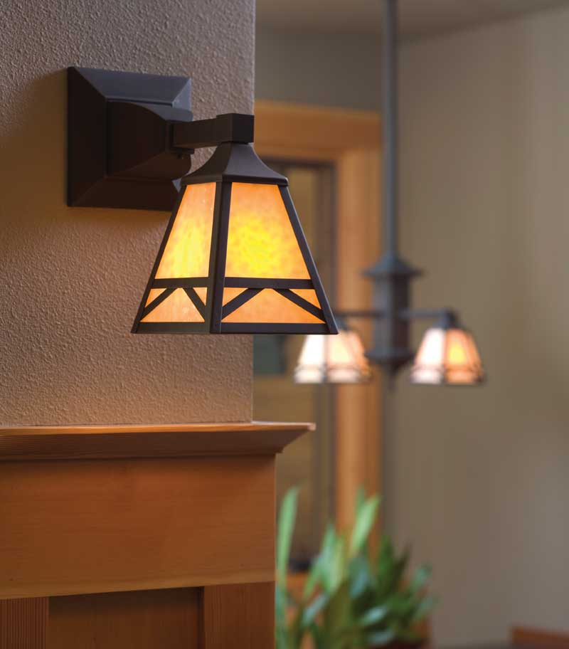 Arts & Crafts House Plan Lighting Detail Photo 01 - Yukon Harbor Vacation Home 011S-0066   House Plans and More