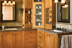 Arts & Crafts House Plan Master Bathroom Photo 01 - Yukon Harbor Vacation Home 011S-0066   House Plans and More