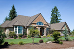 Craftsman House Plan Front Photo 01 -  011S-0073 | House Plans and More