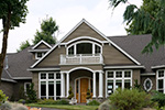 Cape Cod & New England House Plan Front Photo 02 -  011S-0073 | House Plans and More