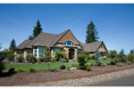 Craftsman House Plan Front Photo 08 -  011S-0073 | House Plans and More