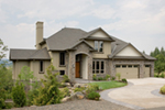 Luxury House Plan Front of Home -  011S-0074 | House Plans and More