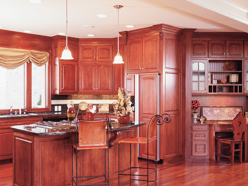 Luxury House Plan Kitchen Photo 01 -  011S-0076 | House Plans and More