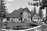 Country House Plan Front Image of House -  011S-0081   House Plans and More