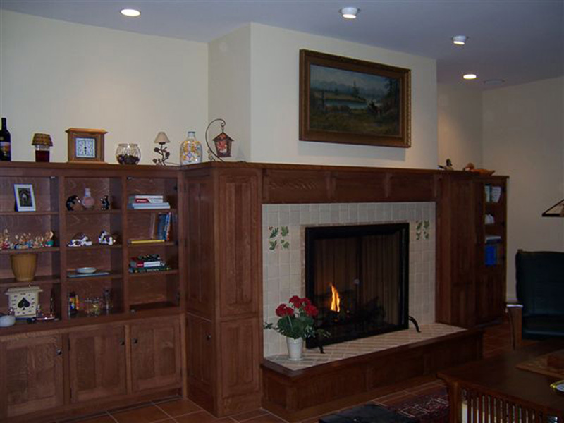 Luxury House Plan Fireplace Photo 01 - 011S-0083 | House Plans and More