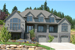 Vacation House Plan Front of Home - 011S-0083 | House Plans and More