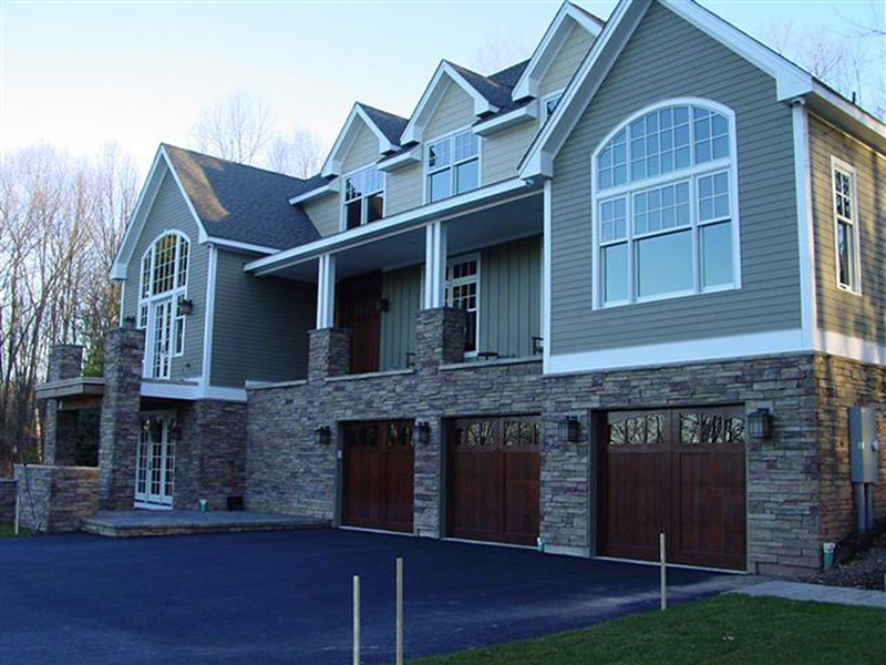 Luxury House Plan Garage Photo - 011S-0083 | House Plans and More