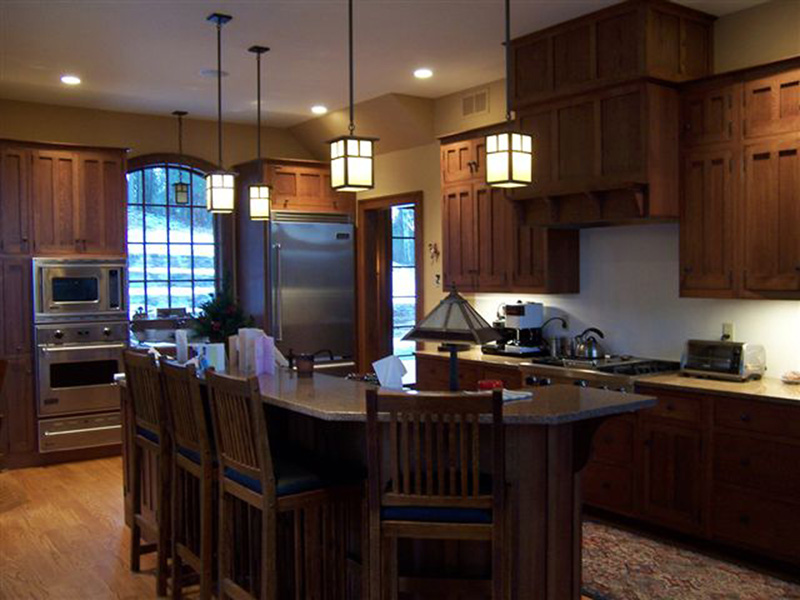 Luxury House Plan Kitchen Photo 01 - 011S-0083 | House Plans and More