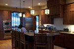 Vacation House Plan Kitchen Photo 01 - 011S-0083 | House Plans and More