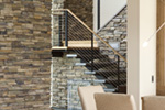 Rustic Home Plan Stairs Photo 01 - Demarco Luxury Prairie Home 011S-0085 | House Plans and More