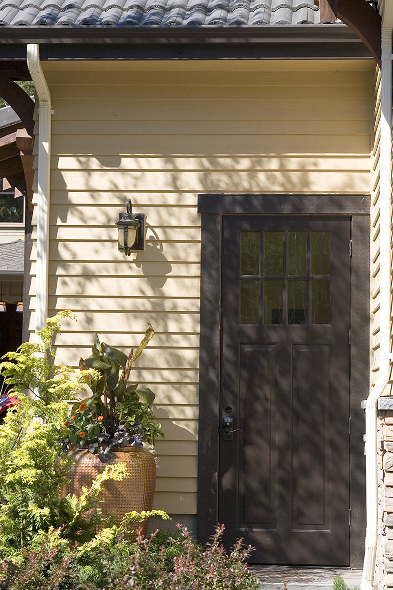Lake House Plan Door Detail Photo 01 - Patterson Luxury Craftsman Home 011S-0087 | House Plans and More