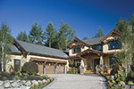 Lake House Plan Front Photo 02 - Patterson Luxury Craftsman Home 011S-0087 | House Plans and More