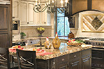 Lake House Plan Kitchen Photo 01 - Patterson Luxury Craftsman Home 011S-0087 | House Plans and More