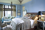 Ranch House Plan Bedroom Photo 03 - DeMere Luxury European Home 011S-0088 | House Plans and More