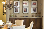 Ranch House Plan Dining Room Photo 02 - DeMere Luxury European Home 011S-0088 | House Plans and More