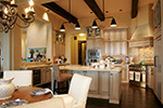 Ranch House Plan Kitchen Photo 01 - DeMere Luxury European Home 011S-0088 | House Plans and More