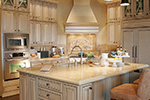 Ranch House Plan Kitchen Photo 10 - DeMere Luxury European Home 011S-0088 | House Plans and More