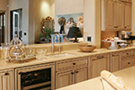 Ranch House Plan Kitchen Photo 02 - DeMere Luxury European Home 011S-0088 | House Plans and More