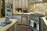 Ranch House Plan Kitchen Photo 06 - DeMere Luxury European Home 011S-0088 | House Plans and More