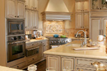 Ranch House Plan Kitchen Photo 07 - DeMere Luxury European Home 011S-0088 | House Plans and More