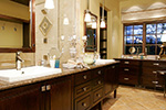 Ranch House Plan Master Bathroom Photo 01 - DeMere Luxury European Home 011S-0088 | House Plans and More