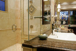 Ranch House Plan Master Bathroom Photo 02 - DeMere Luxury European Home 011S-0088 | House Plans and More