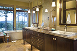 Ranch House Plan Master Bathroom Photo 03 - DeMere Luxury European Home 011S-0088 | House Plans and More
