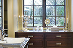 Ranch House Plan Master Bathroom Photo 05 - DeMere Luxury European Home 011S-0088 | House Plans and More