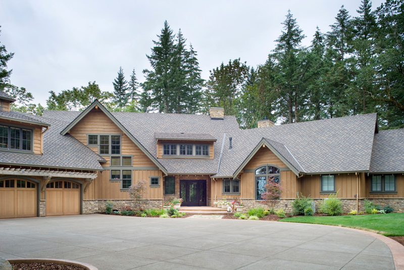 Vacation House Plan Front of Home - Timber Creek Luxury Home 011S-0089 | House Plans and More