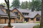 Vacation House Plan Front Photo 02 - Timber Creek Luxury Home 011S-0089 | House Plans and More