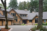 Vacation House Plan Front Photo 03 - Timber Creek Luxury Home 011S-0089 | House Plans and More