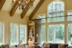 Vacation House Plan Great Room Photo 01 - Timber Creek Luxury Home 011S-0089 | House Plans and More