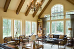 Vacation House Plan Great Room Photo 02 - Timber Creek Luxury Home 011S-0089 | House Plans and More