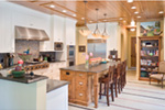 Vacation House Plan Kitchen Photo 05 - Timber Creek Luxury Home 011S-0089 | House Plans and More