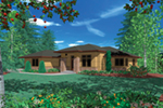 Luxury House Plan Front of Home -  011S-0093 | House Plans and More