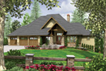 Luxury House Plan Front Image -  011S-0098 | House Plans and More