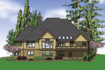 Luxury House Plan Color Image of House -  011S-0098 | House Plans and More