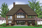 Rustic Home Plan Color Image of House -  011S-0102 | House Plans and More