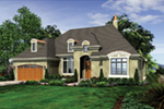 Luxury House Plan Front Image - Lindley Bay European Home 011S-0103 | House Plans and More