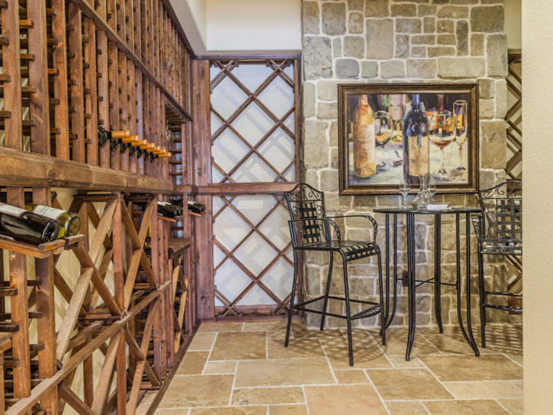 Luxury House Plan Wine Cellar Photo - Lindley Bay European Home 011S-0103 | House Plans and More