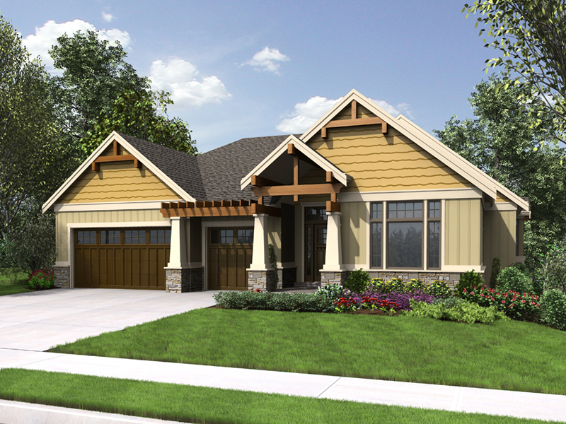 Rustic Home Plan Front of Home - Steinhoff Luxury European Home 011S-0106 | House Plans and More