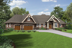 European House Plan Front of Home - Sterling Way Luxury Home  011S-0107 | House Plans and More