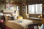 Ranch House Plan Bedroom Photo 01 - Knotty Pine Luxury Home 011S-0112 | House Plans and More