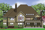 Lake House Plan Color Image of House -  011S-0113 | House Plans and More