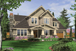 Tudor House Plan Front Image -  011S-0130 | House Plans and More
