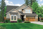 Rustic Home Plan Front of House 011S-0140